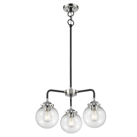 284-3W Beacon Glass 3 Light Chandelier Innovations Lighting