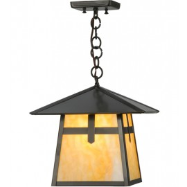 "12""SQ Stillwater Ceiling Pendant Meyda Lighting"