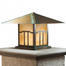 Bungalow Column Mount Lighting Brookdale