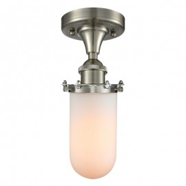 516-1C-232 Industrial Glass Light Drop Ceiling Kingsbury