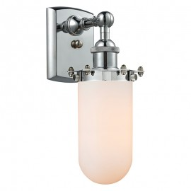 516-1W-232 Industrial Glass Light Kingsbury Wall Sconce