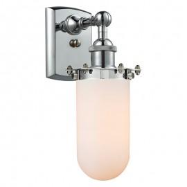 516-1W-232 Industrial Glass Light Kingsbury Wall Sconce