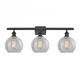 516-3W Athens Glass 3 Light Sconce