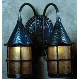 LF301D Double Grande Cottage Wall Sconce