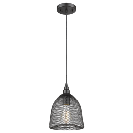 571C Mesh Metalwork Medium Pendant Innovations Lighting