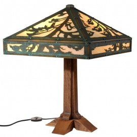 Limbert Single Pedestal Table Lamp