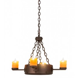 "67972 - 24.5"" Kingston Gothic Chandelier"