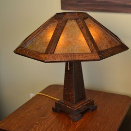 Arts & Crafts Table Lamp