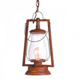 49er Chain Mount Rustic Lantern