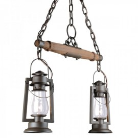 772S-92 Pioneer 2 Lantern Single Tree Ceiling Mount