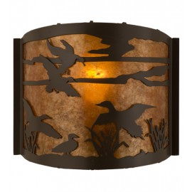 81076 Ducks in Flight Wall Sconce Meyda