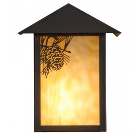 Seneca Flush Wall Sconce Meyda Lighting