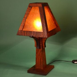 Bungalow Craftsman Small Table Lamp