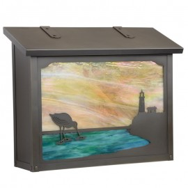 Shorebird Large Vertical Mailbox