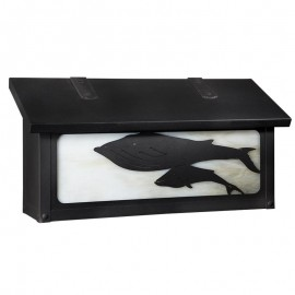 Whale Horizontal Wall Mount Mailbox