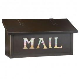 Classic MAIL Horizontal Mailbox