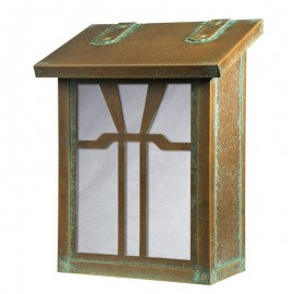 Gamble Vertical Wall Mount Mailbox