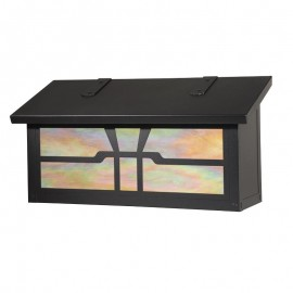 Gamble Horizontal Wall Mount Mailbox