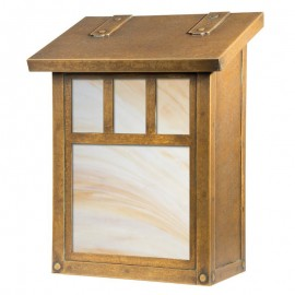 Double T Vertical Wall Mount Mailbox