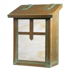 Arrow Vertical Wall Mount Mailbox