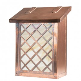 Window 6 Overlay Vertical Wall Mount Mailbox