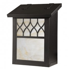 Window 12 Overlay Vertical Wall Mount Mailbox
