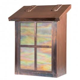 Window 14 Wall Mailbox