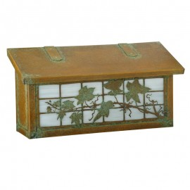 English Ivy Horizontal Wall Mount Mailbox