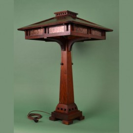 Bungalow Craftsman Reading Table Lamp