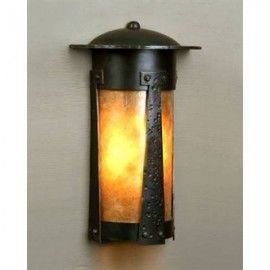 1900/3 Flush Wall Sconce Mica Lamp Company