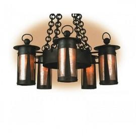 1919 Lantern 1900 Chandelier Mica Lamp