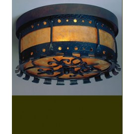 LF207 Manor Chandelier Mica Lamp