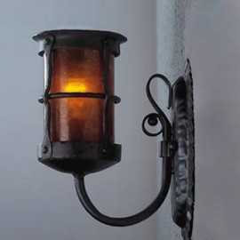 LF401 Griffith Lantern Sconce Mica Lamps