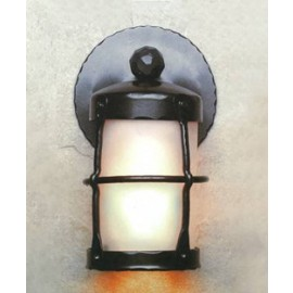 LF401F Outdoor Griffith Lantern Sconce Mica Lamps