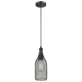 570C Mesh Metal Work Pendant Innovations Lighting