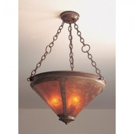 101C Up Light Chandelier Chain Mica Lamp
