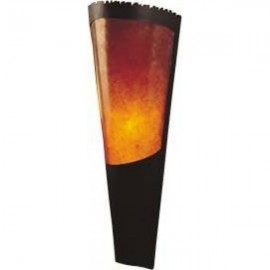 MT01 Large Modern Wall Torch Mica Lamp