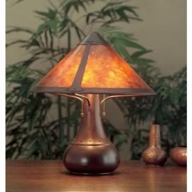 Craftsman Onion Table Lamp 013 Mica Lamp