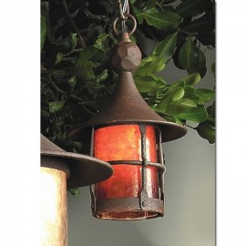 SB1 Storybook Elf Ceiling Pendant Mica Lamp Company