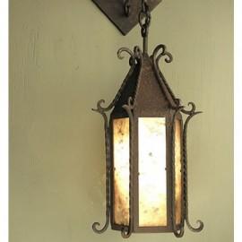 SB31 Seville Wall Pendant Mica Lamp