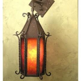 SB32 Seville Wall Pendant Mica Lamp