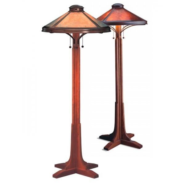051 Bungalow Floor Lamp Mica Lamp Company