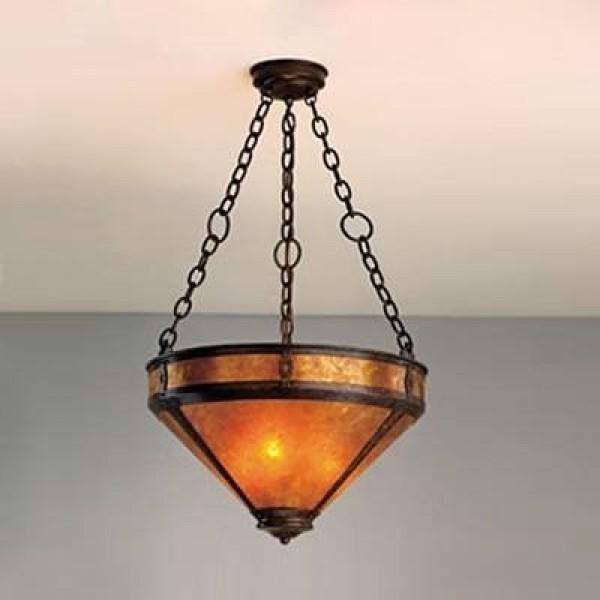 "104 Up Light 20"" Chandelier Mica Lamp"
