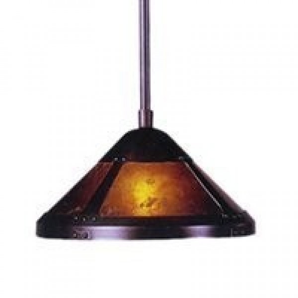 "137P Mini Pendant 9"" Mica Lamp"