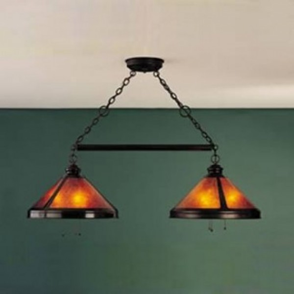136 Billiard Light Mica Lamp Company