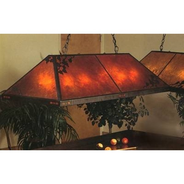 136G Grand Billiard Light Mica Lamp Company