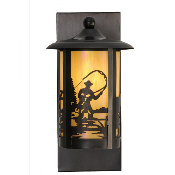 150580 Fly Fishing Solid Wall Sconce Meyda Lighting