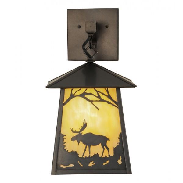 150673 Moose at Dawn Hanging Wall Meyda Lighting