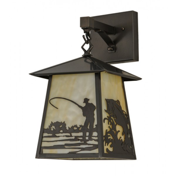 Wall Sconce Fly Light : 150682 Fly Fishing Wall Sconce Meyda Lighting - Lighting Outfitters