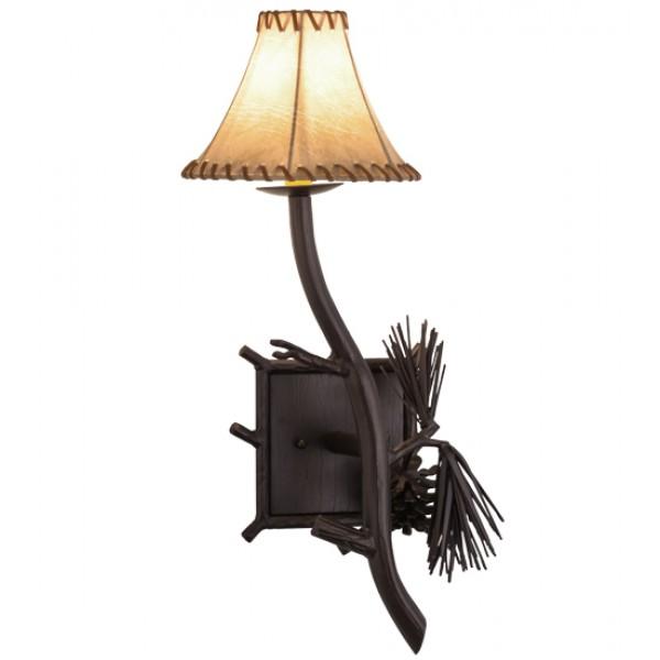152830 Lone Pine Right Wall Sconce Meyda Lighting
